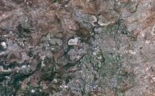 Région de Jérusalem observée par Venμs le 17 août 2017